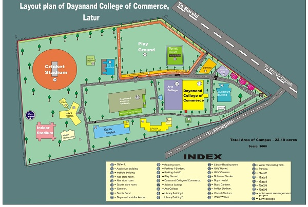 Dayanand College Of Commerce Location Map
